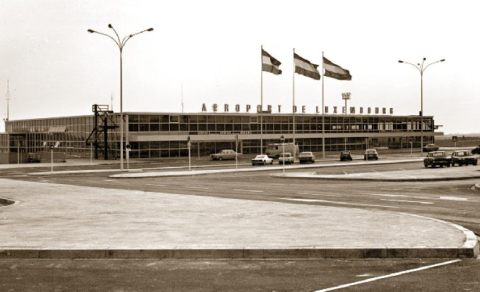 old Findel airport in Luxembourg