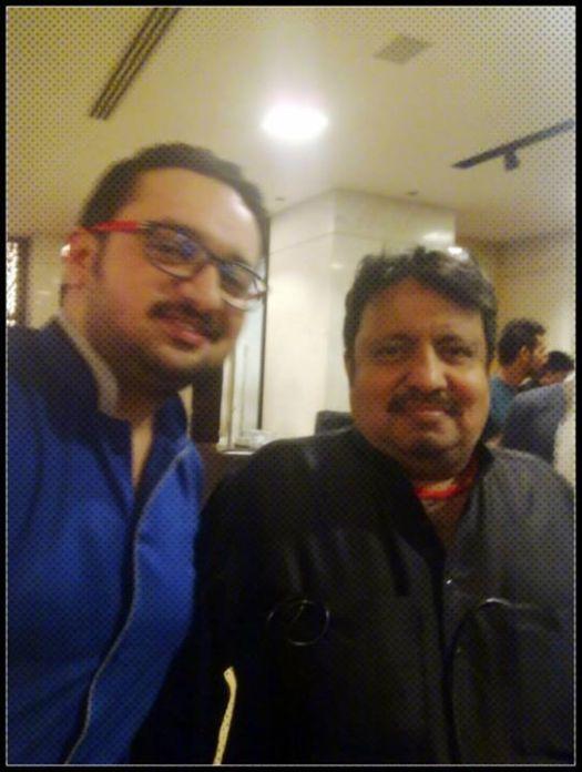 With Neeraj Vora Writer Actor Director (Phir Hera Pheri Hera Pheri 3 Khiladi 420)