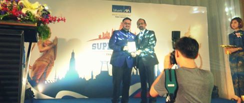 Getting Top Insurance Award In Bharti Axa Life Insurance In Thailand