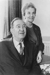 """Stuart Mudd (1893-1975) and Emily Hartshorne Mudd (1898-1975), M.S.W. 1934, Ph.D. 1947,"" Penn Libraries University Archives."