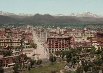 Denver, Colorado, ca. 1898. (