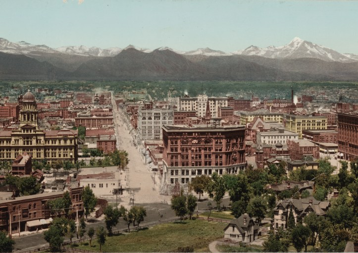 Denver, Colorado, ca. 1898. (
