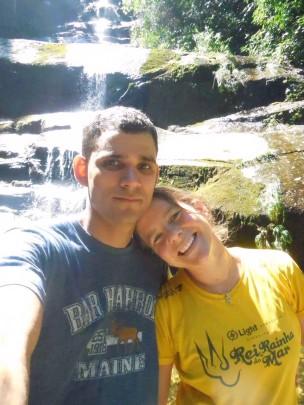 Clayton Fagner Alves Dias and Cassia Roth.