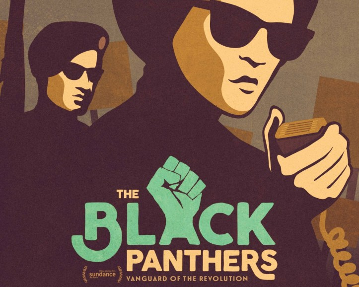 Poster detail for PBS's The Black Panthers: Vanguard of the Revolution. (PBS)