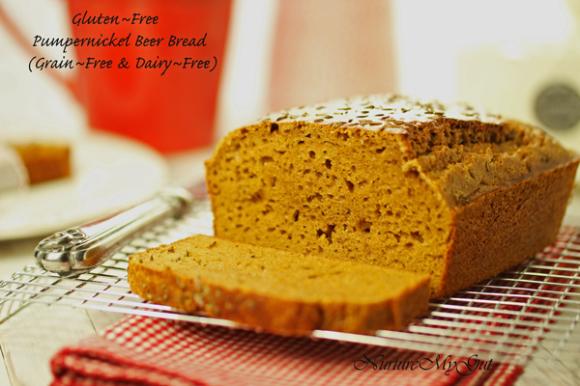 Paleo Rye Beer Bread