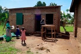 unsere neue Küche und Vorratslager