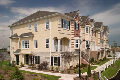 Riverside Court in Secaucus New Jersey - Luxury Condo Townhouses
