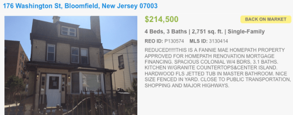Nutley Short Sales & Bank Owned Homes