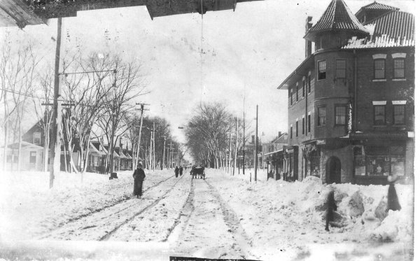 Franklin Ave in Nutley
