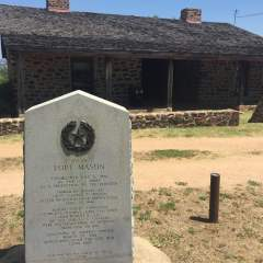 Site of Fort Mason, Texas