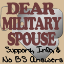 Dear Military Spouse