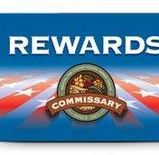 Commissary Rewards Card