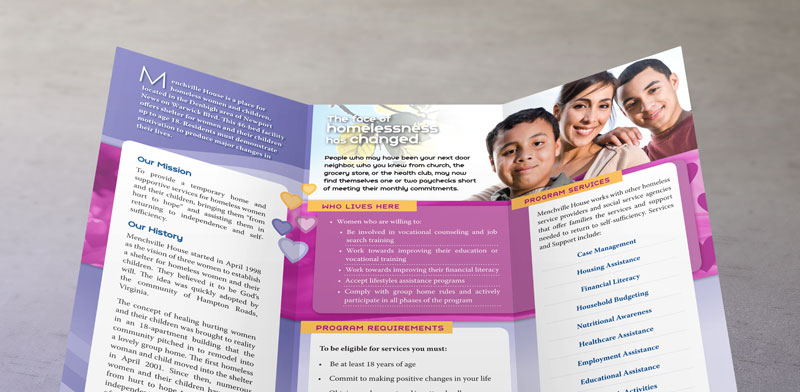 What makes a good brochure design