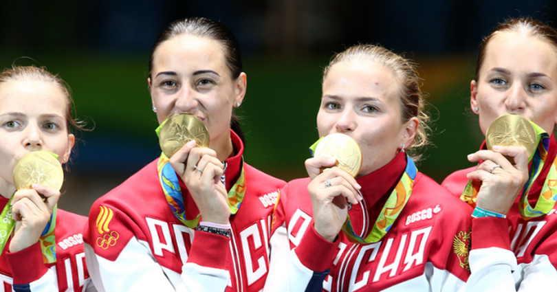 У России 12 золотых медалей и 5 место в общем зачете