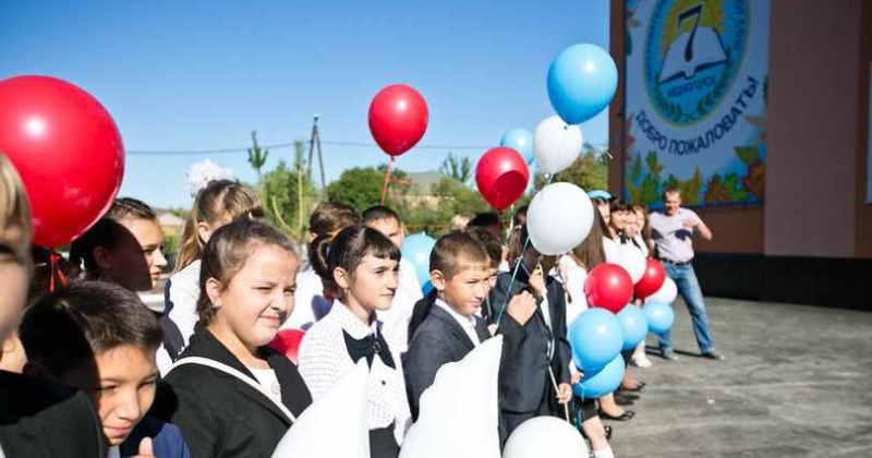 Торжественно открытие школы № 7 в Медногорске