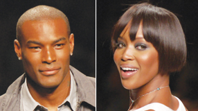 Models Naomi Campbell and Tyson Beckford are two famous people who have Jamaicans and Chinese ancestry