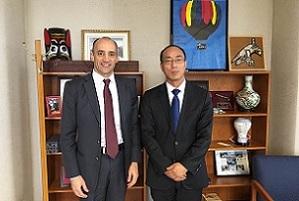 From left: Bonlender, Yang