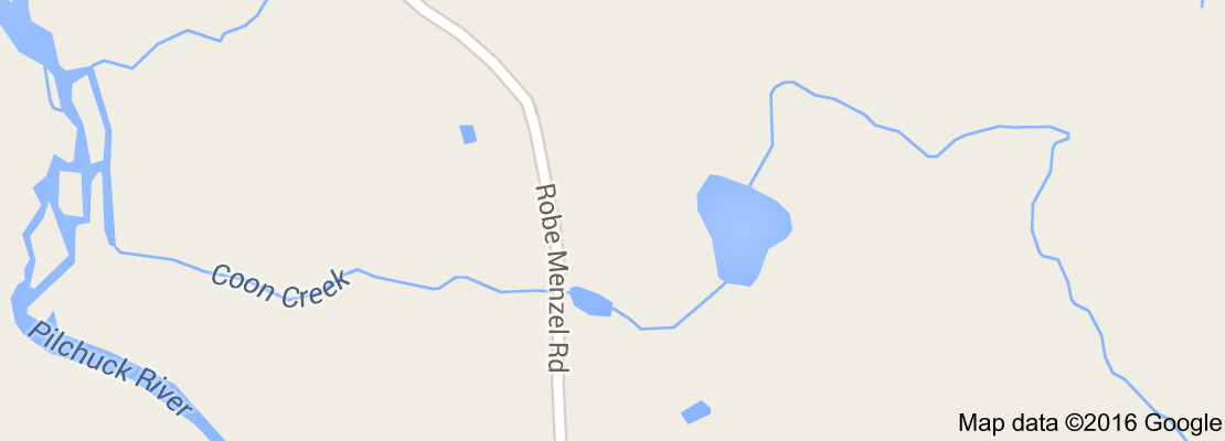 Coon Creek on the map