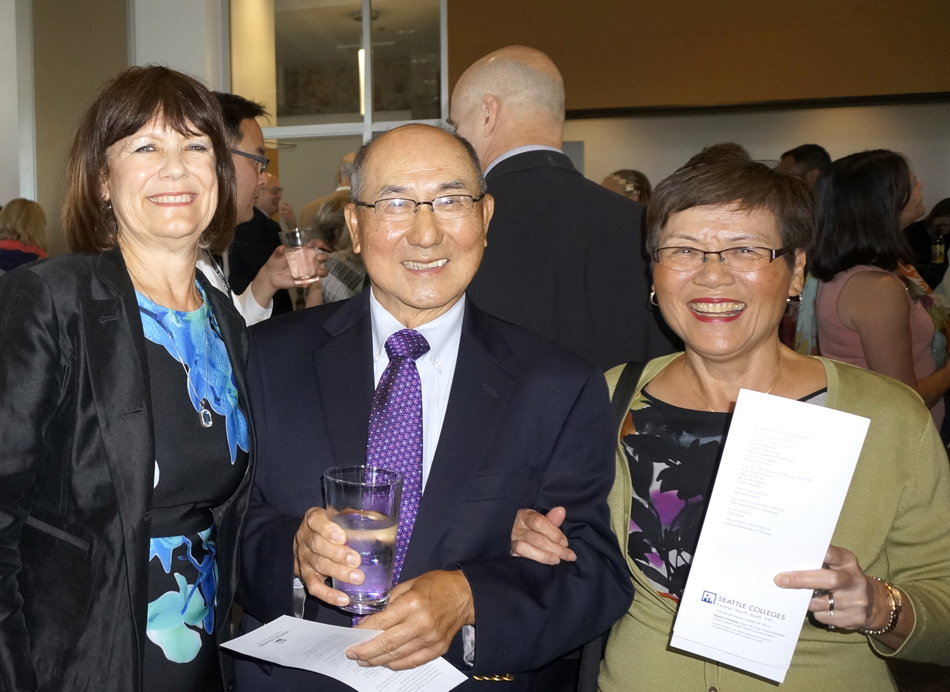 with Dr. Peter and Sophia Ku