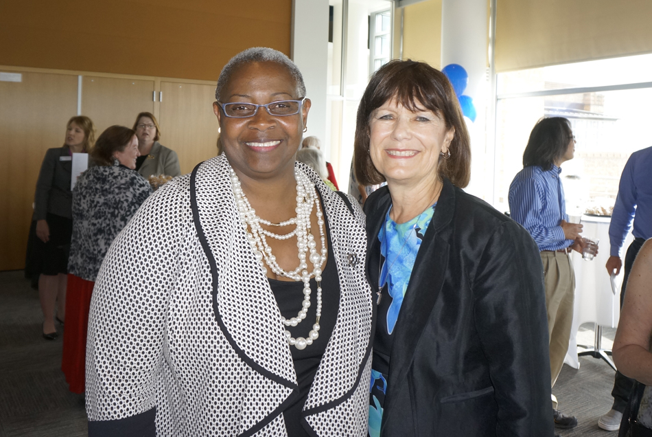 with Sheila Edwards Lange, Seattle Central College President