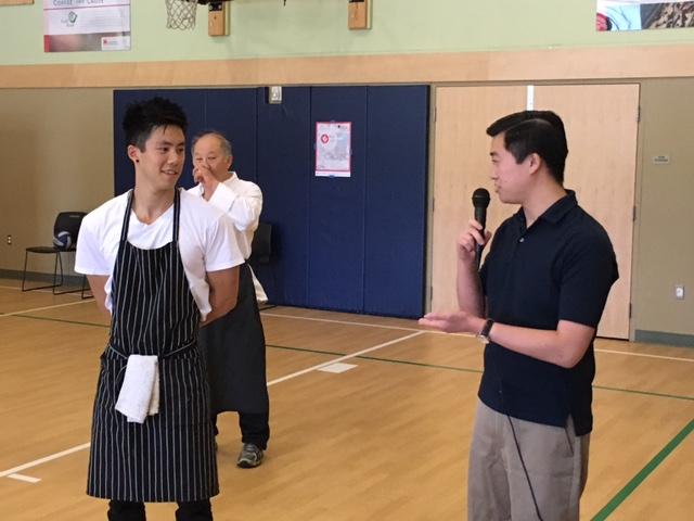 Alex Kong (left)