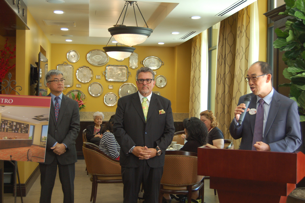 From left: Gary Locke, Dwayne Clark, and Michael Lo (Photo by Rebecca Ip/SCP)