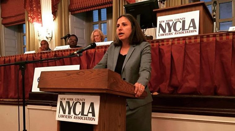 Diane Gujarati (Photo from Asian American Bar Association of New York)