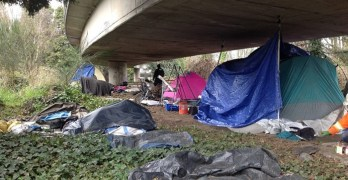 Seattle to clear out homeless camp 'The Jungle' in October
