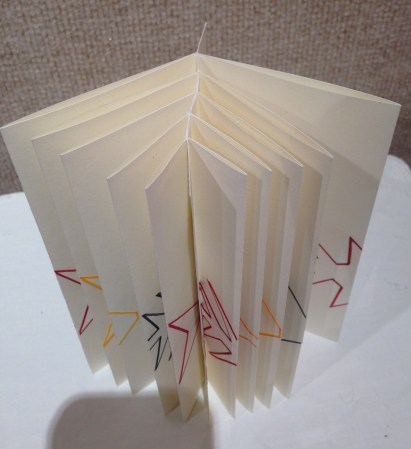 """Fishbone Fold Book"" by Connie Fisher"