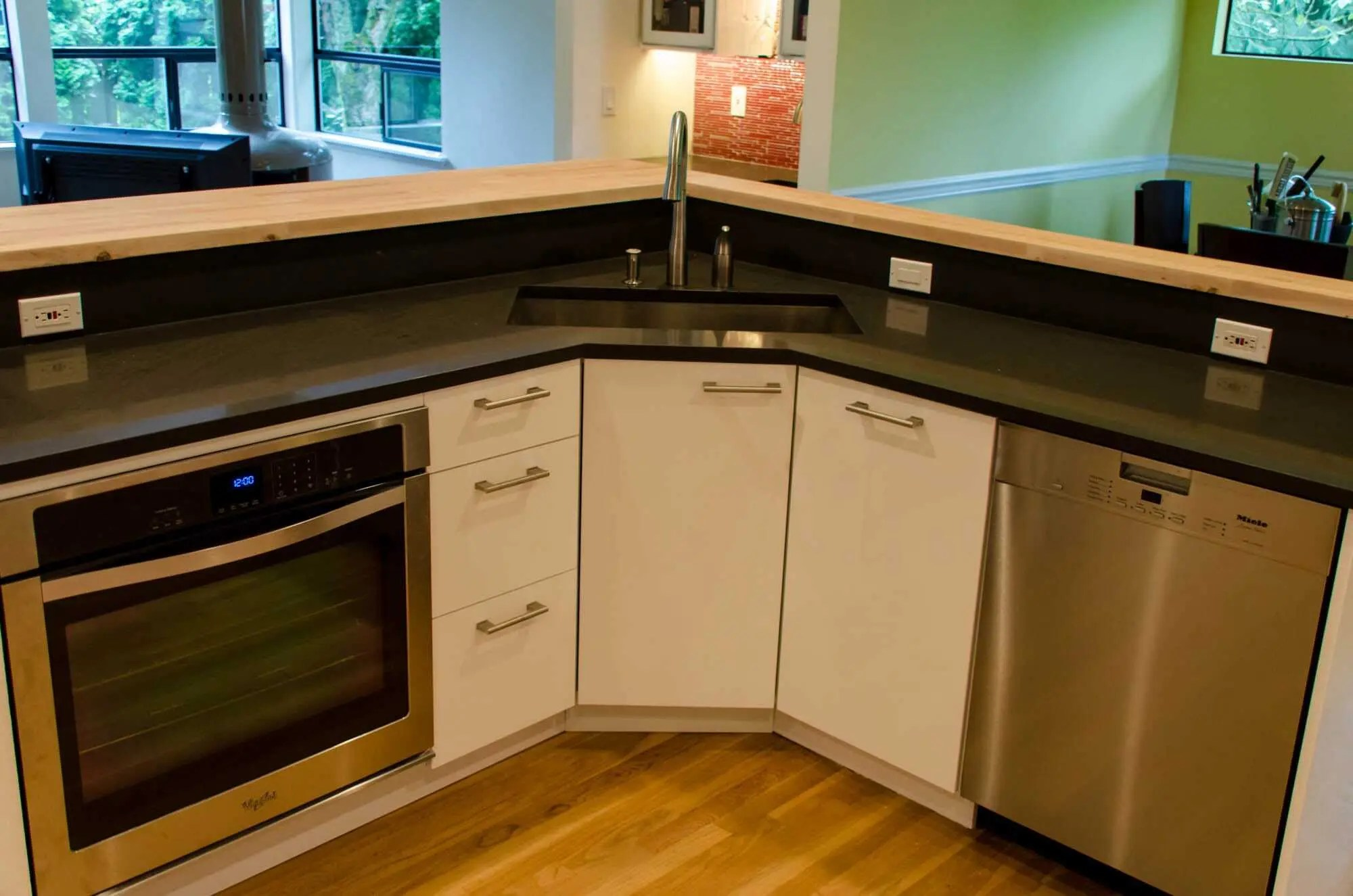 an ikea kitchen that pops kitchen cabinets ikea IKEA Kitchen Kirkland 5