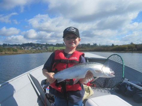 Wdfw forecasting strong puget sound pink coho columbia for Sound bound fishing