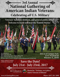 National Gathering of American Indian Veterans 2017