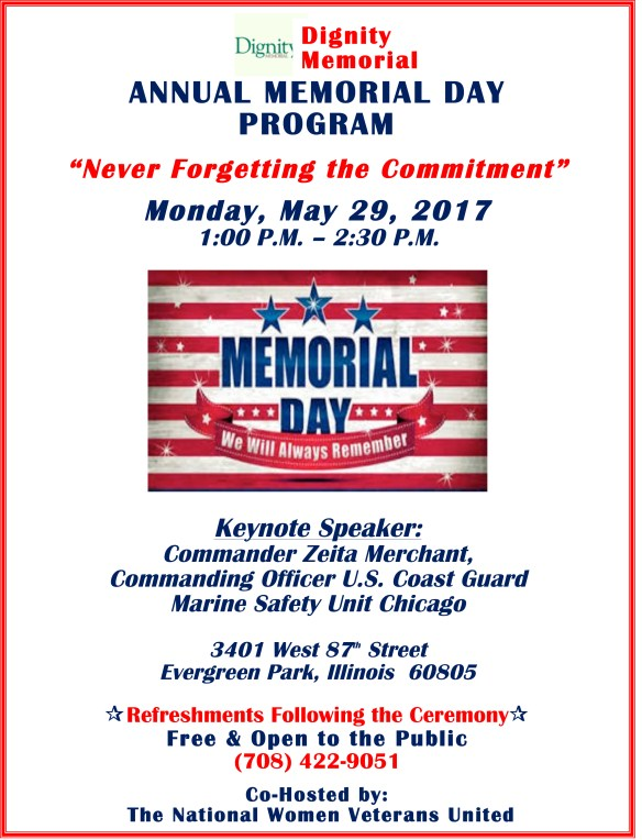 Microsoft Word - Revised Evergreen Memorial Day Flyer .doc