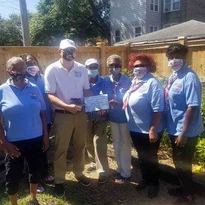 Frank-Salato-United-Relief-Foundation-receives-service-recognition-awards-from-Rochelle-Crump-NWVU