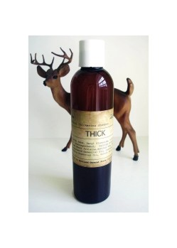 THICK - natural thickening shampoo with palo santo and marula oil - vegan, paraben and sulfate free