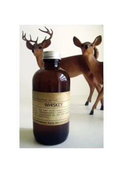 WHISKEY natural aftershave splash  with sea minerals - vegan