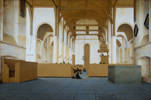 Protestant Post Iconoclasm Church Interior