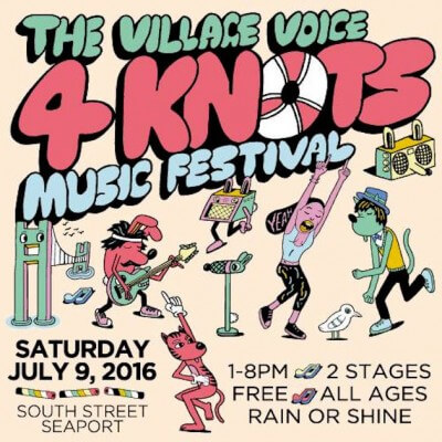 4Knots Music Festival Returns to the Seaport July 9