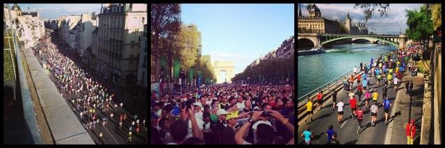 Le marathon de Paris, sans doute le plus beau du monde