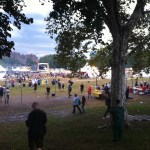 Meatopia on Randall's Island (taken after the storm)