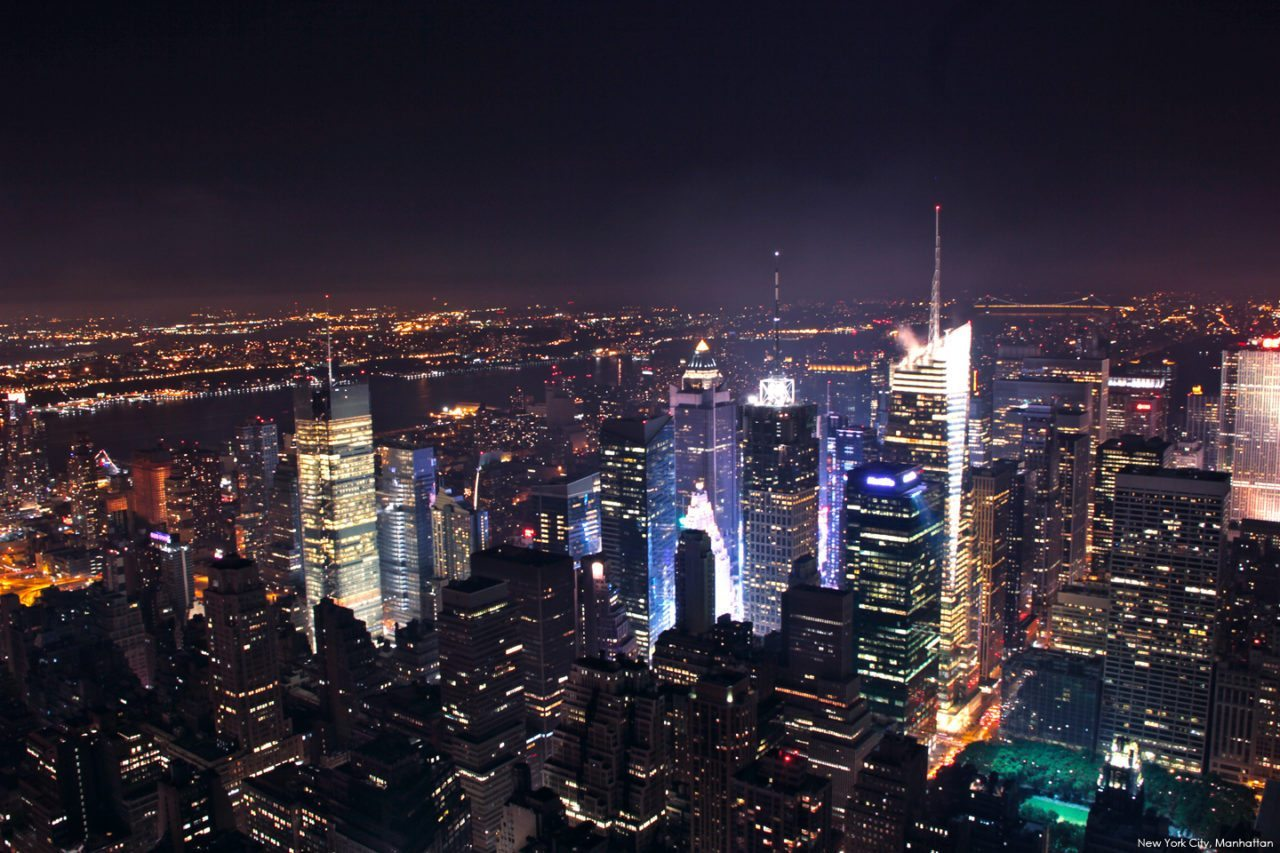 New-York-City-in-The-Night