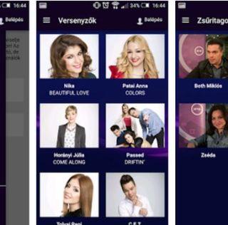 A Dal 2016 – szavazás, applikáció