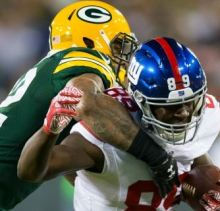 Hey Giants: Eli needs a Tight End, put Adams in the game.