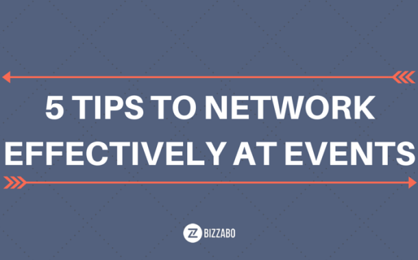 5 Tips to Network Effectively At Any Event