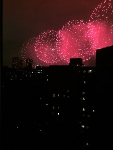 July 4. 2016 Fireworks from window