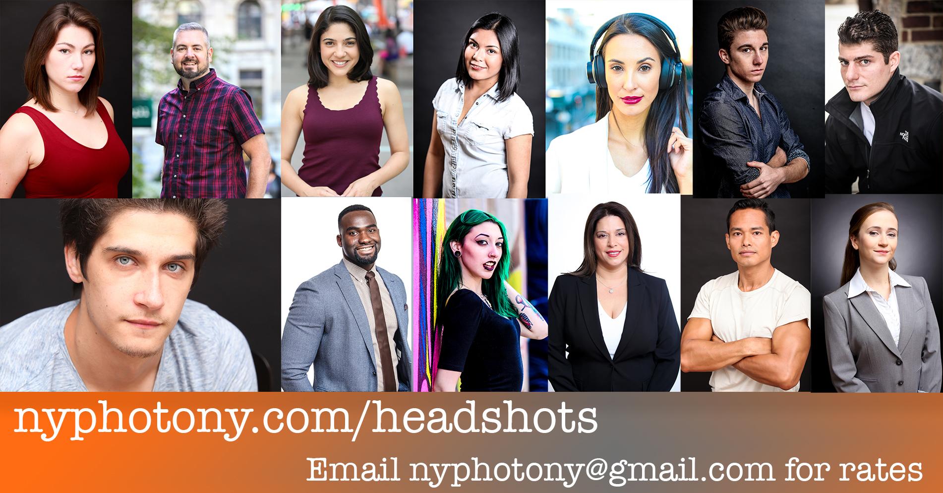headshots nyc, new york headshots, pro portraits, corporate headshots, acting headshots, modeling headshots, awesome headshots,