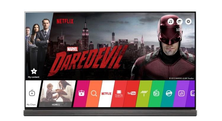 CES2016 خدمة Netflix قادمة إلى سوق الشرق الأوسط أذا كنت تملك شاشة LG