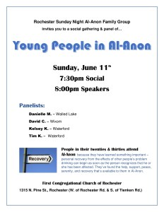 Young People In Al-Anon @ First Congregational Church of Rochester | Rochester Hills | Michigan | United States