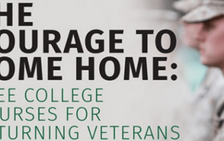 antioch college courses for veterans