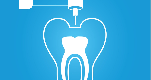 Root canal symbol corpped